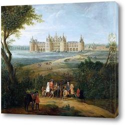 Картина Вид на замок Шамбор со стороны парка
