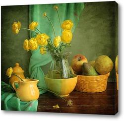 Постер Лютики-цветочки