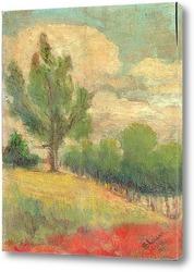 Картина Большой ствол дерева