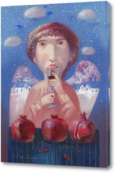 Постер Зимний Ангел