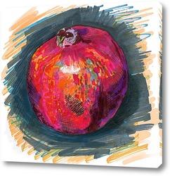 Картина Рубиновый гранат