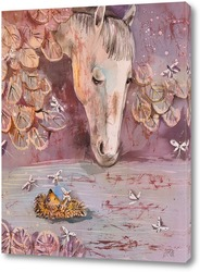 Ёжик и лошадка