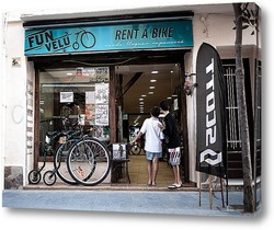 Постер Аренда велосипеда