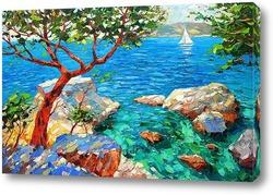 Картина Бирюзовый залив