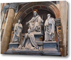 Постер В соборе Святого Петра в Риме