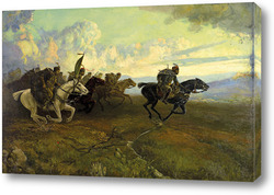 Картина Петър Морозов Хвърковатата чета на Бенковски