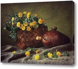 Постер Весенний натюрморт с улиткой