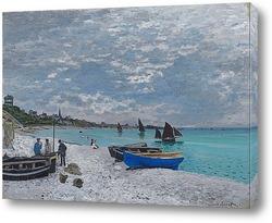 Картина Пляж в Сент-Адресс