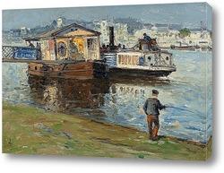 Картина Дебаркадер на Сене