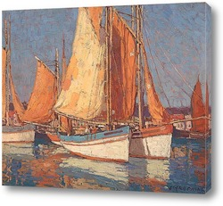 Постер Лодки у Конкарно