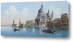 Средиземноморский натюрморт с цветами.
