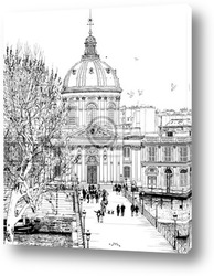 Paris - view from Pont Neuf bridge