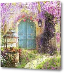 Сказочная дверь