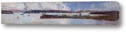 Картина Дождь на гавани Сиднея