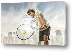 Постер Tennis player