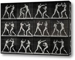 Картина Мужчины боксёры