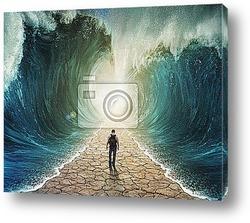 Постер Прогулка, вода