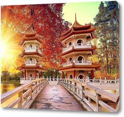 Постер Осенний сад
