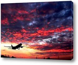 Одинокий самолет