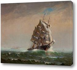Американское парусное судно, 1916