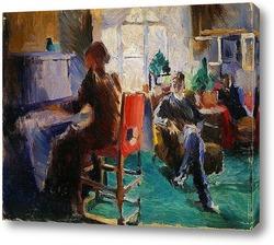 Картина К фортепиано
