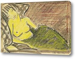 Постер Спящая женщина