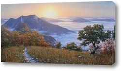 Картина Рассвет на горе Папай