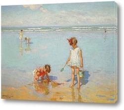 Картина Дети у моря