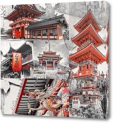 Постер Красочная Япония