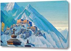 Картина Тибет, Гималаи