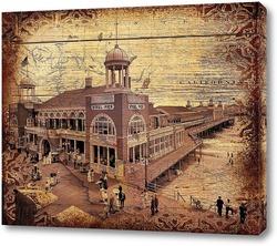 Steel Pier, Атлантик-Сити (1910)