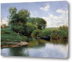 Постер Прогулка по реке