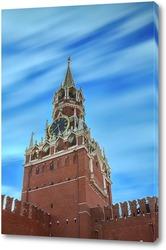 Постер Спасская башня московского Кремля