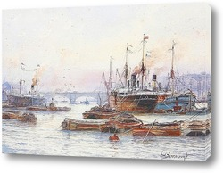 Уитби гавань