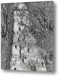 Постер Мраморный Конкурс на Бостон-Коммон, 1920