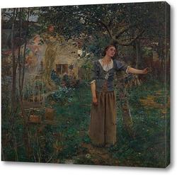 Постер Жанна д'Арк. 1879