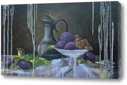 Картина Натюрморт со сливами