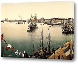 Порт Велл.Яхты в Барселоне. Испания