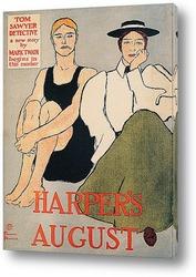Постер Август Харпера. Детектив Тома Сойера