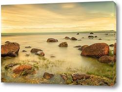Постер Камни в море