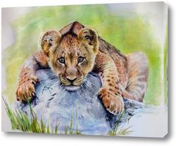 Картина Львёнок