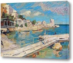 Картина На побережье Черного моря, 1914