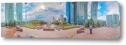 Панорама улицы Красной в Краснодаре