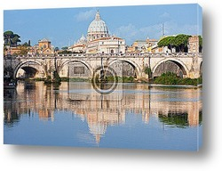 Постер Vatican in the morning
