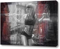 Постер Тренировка в Манхэттене