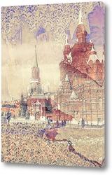 Постер Красная площадь