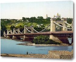 Картина Николаевский мост 1896  –  1897