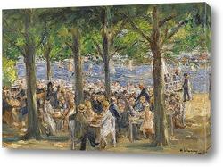 Картина Местный сад Гавел под деревьями