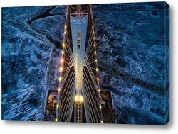 Постер На пилоне моста ЗСД