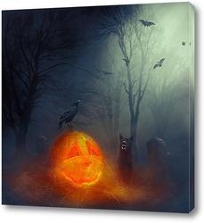 Постер Хэллоуин!